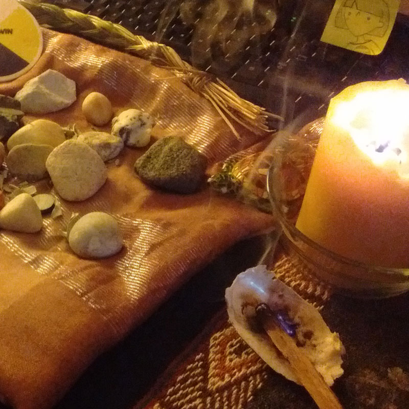 medicine bundle space clearing smudging service in Ottawa